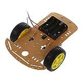 SODIAL(R) WST Motor Smart Robot Car Chassis Kit Speed Encoder Battery Box