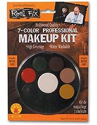 7 Color Professional Makeup Kit Reel F/X Halloween Costume Makeup
