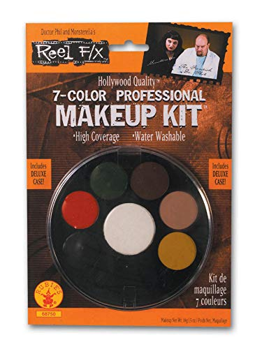 7 Color Professional Makeup Kit Reel F/X Halloween Costume -
