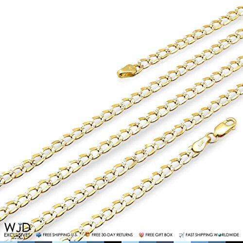14K Yellow Gold Diamond Cut 3.