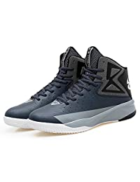 Men's Air Performance Allstart Light Sports Shoe Running Casual High Cut Breathable Mid Basketball Shoes Sneaker for Boy