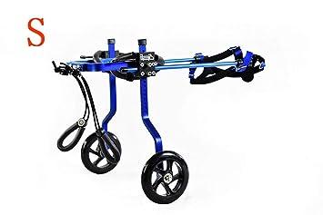 Silla de ruedas para perros con ciclomotor para mascotas, silla de ruedas ajustable para perros