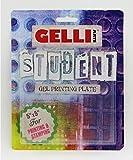 Gelli Arts Gel Printing Student Plate 5X5 In