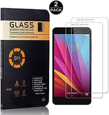 SONWO Protector Pantalla Huawei Honor 5X, Protección Completa de ...