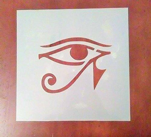 12 Inch Egyptian Style Eye Stencil