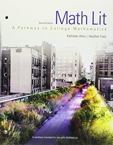 013430408X - Math Lit plus MyMath Lab -- Access Card Package (2nd Edition) (Pathways Model for Math)