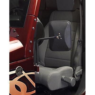 Olympic 4X4 Products 117-124 Safari Mirror, Textured Black: Automotive [5Bkhe0911095]