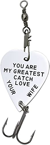 BSTQC Angelhaken Lure You Are My Greatest Catch Angelk/öder Schl/üsselanh/änger
