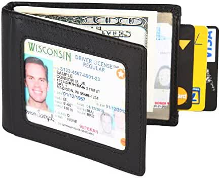 Dante RFID Blocking Stylish Leather Wallet for Men,Credit Card Protector