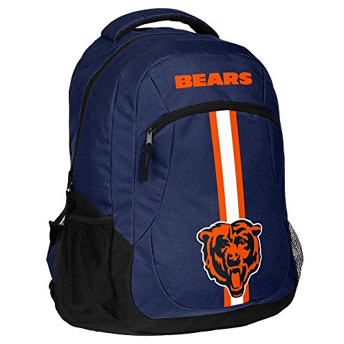NFL Chicago Bearsaction Backpack, Chicago Bears, One (Nfl Backpack)
