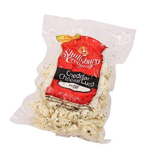 Shullsburg Creamery - Fresh Dill Cheddar Cheese Curds - 12 oz. - Fresh Cheddar Cheese