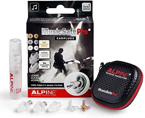 Alpine MusicSafe Hearing Protection Transparent product image