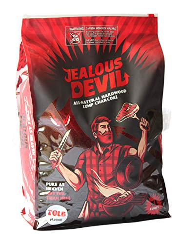Jealous Devil All Natural Hardwood Lump Charcoal