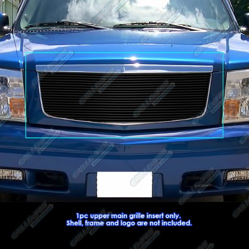 Cadillac Escalade Grille Replacement (APS A85366H Black Powder Coated Grille Replacement for select Cadillac Escalade Models)