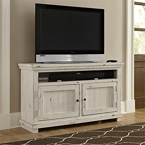 Progressive Furniture Willow Console, 54 , Distressed White