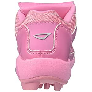 3N2 Youth Rookie Shoes, Pink, Size 5