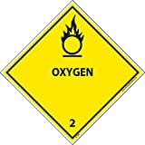 DL7AL National Marker Dot Shipping Labels, Oxygen 2, 4 Inches x 4 Inches, Ps Paper, 500/Rl
