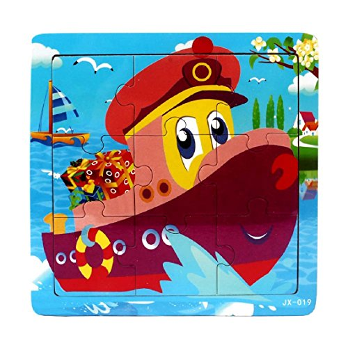 Price comparison product image Naladoo Wooden Kids Jigsaw Toys For Children Education and Learning Puzzles Toys