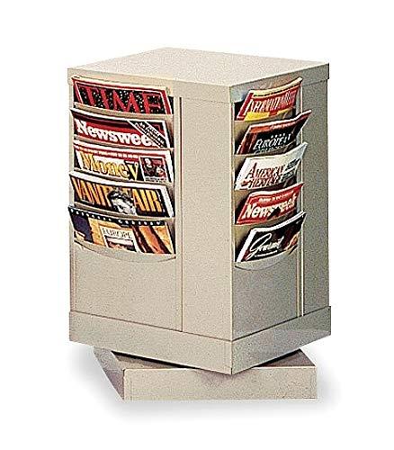 Durham Magazine Display, 20 Compartments, Tan - 409-75 ()