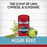 Old Spice Aluminum Free Deodorant for Men, Aqua