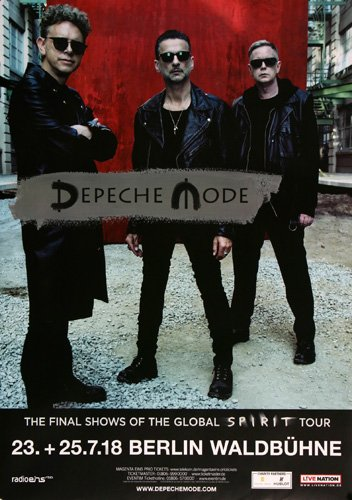 DEPECHE MODE GIANT WALL POSTER PRINT NEW G1334