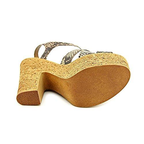 Callisto Dona Kvinnor Us 8 M Brun Reptil Plattform Sandal
