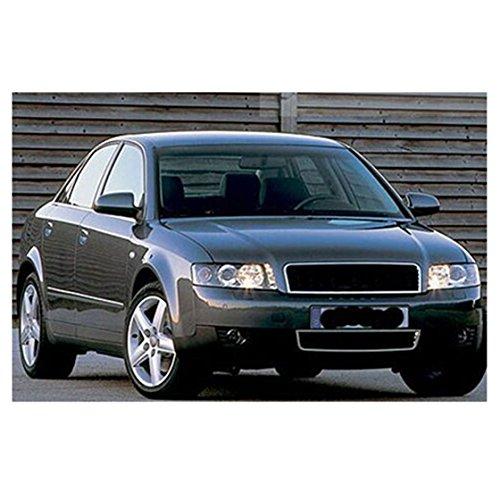 TOOGOO Reja del radiador de Cromo Centro de Parachoques Delantero para Audi A4 B6 Limousine 02-05: Amazon.es: Coche y moto