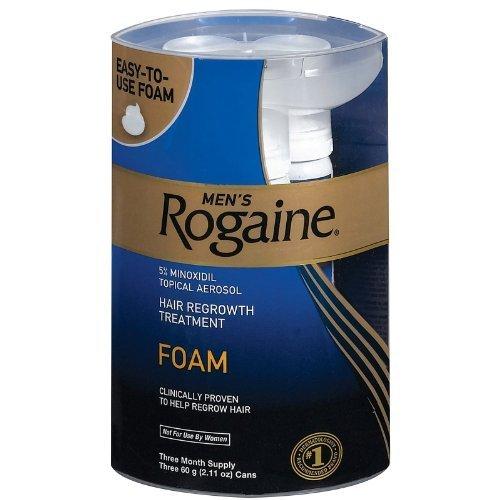 Rogaine Regrowth Treatment Foam 3 Supply