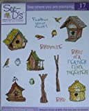 See D's Birdhouses 17 Rubber Stamps and Case # 50035 Inque Boutique SugarLoaf