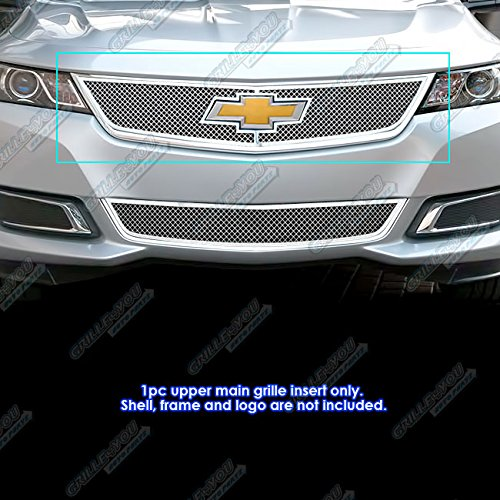 APS C75945T Chrome Grille Bolt Over for select Chevrolet Impala Models