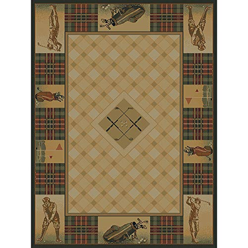 Westfield Home Ridgeland Golf Pro Area Rug - 5'3 x 7'6 from by Westfield Home
