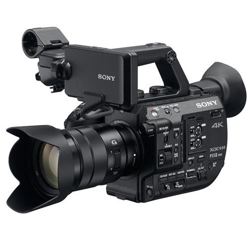 (Sony PXW-FS5M2 4K XDCAM Super 35mm Compact Camcorder with 18 to 105mm Zoom Lens)