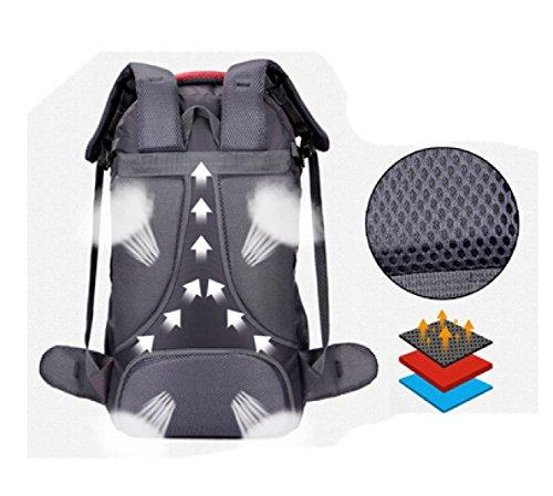 Leisure Laidaye Outdoor Black Bag Backpack Travel Shoulder Multi Business functional purpose Climbing Multi q0xFqr