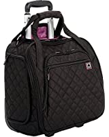 Delsey Quilted Rolling UnderSeat Tote- EXCLUSIVE
