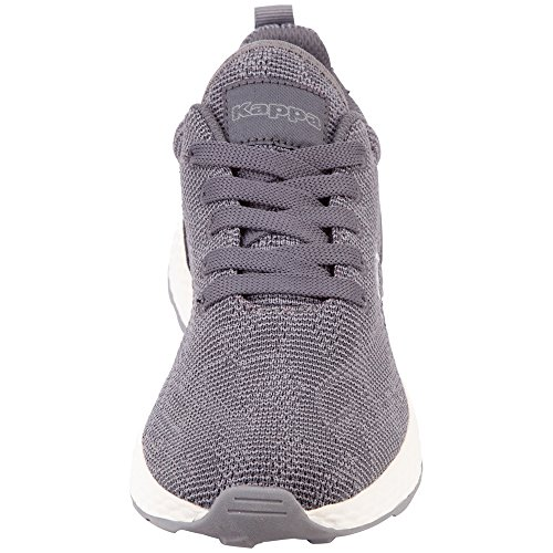 Kappa Sneakers Basses grey Gris Mixte 1643 offwhite Escape Adulte r5O4rF