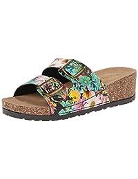 Dirty Laundry Women's Tai Chi Floral PR Platform Sandal