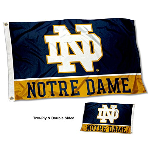 Notre Dame Flag (College Flags and Banners Co. Notre Dame Fighting Irish Double Sided)