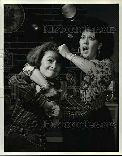 Historic Images - Vintage Press Photo Scene in