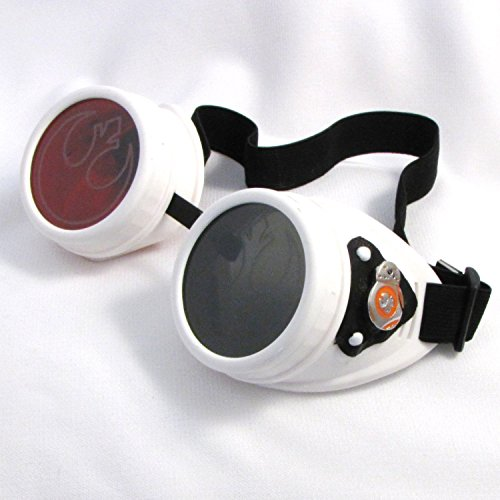 Steampunk Goggles Sci Fi Rocker Rebels eyewear - Eyewear Rogue
