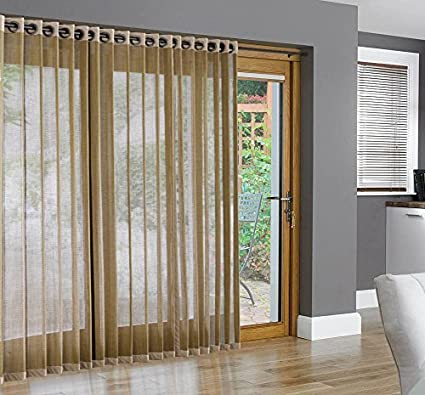 amazon com bamboo grommet top panels for sliding glass doors and