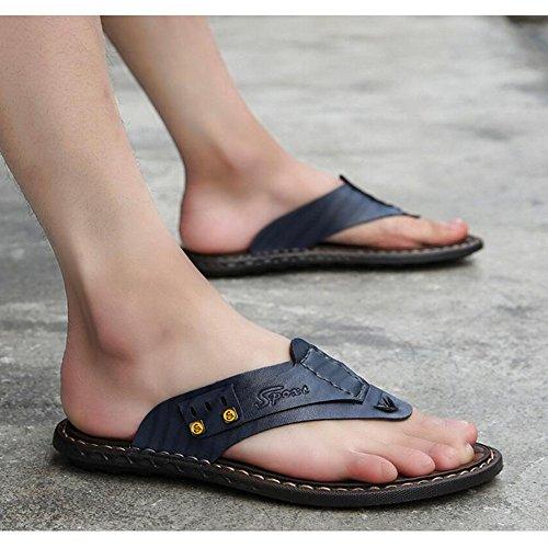 6 de Sandalias Hombre Verano de de Microfibra Playa 2 – – LXMEI blue 11 de 2 Tamaño – para de Tipos Zapatillas Opcional Chanclas wYxnIaH