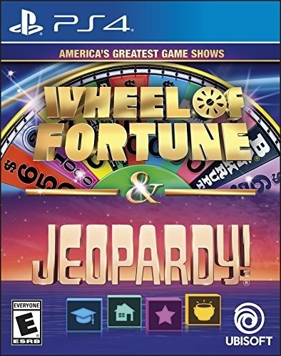 America's Greatest Game Shows: Wheel of Fortune & Jeopardy - PlayStation 4 Standard (Wheel Of Fortune Online Game)