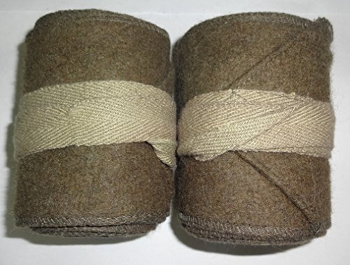 (warreplica WW1 US Army Khaki Putties / M1910 Leggings Wraps - Reproduction)