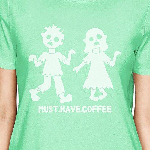 de pieza mujer tener 365 de Printing Debe para una corta Camiseta caf manga UHEH6q