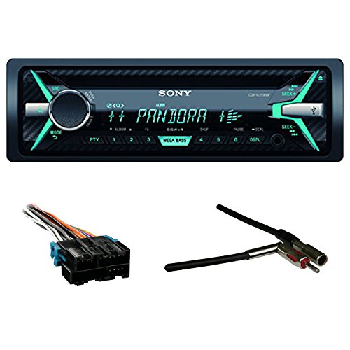 Wiring Harness Sony Car Stereo : Sony cdxg up single din car stereo receiver black