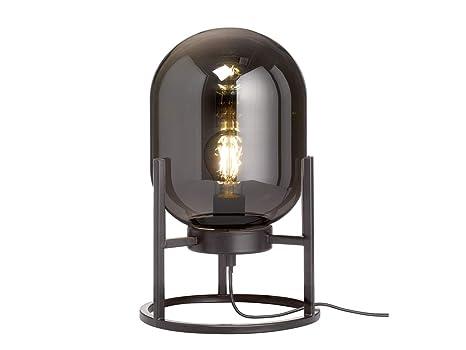 Honsel Extravagante - Lámpara de mesa LED (34 cm), diseño de ...