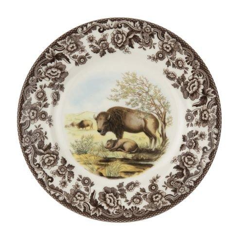 Spode Woodland & Delamere Salad Plate (Bison) ()