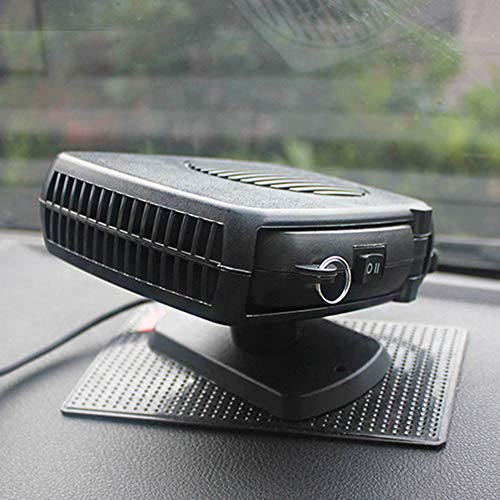 QTQZ Car heater fan,12v 24v heater car defrost electric desk heater portable space heater-A: Sports & Outdoors