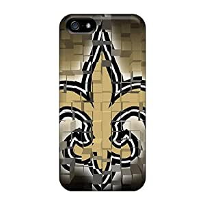 Iphone 5/5s Cases Covers Skin : Premium High Quality New Orleans Saints Squares Cases