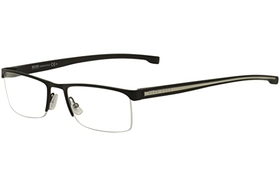 1b6bbb46fe1 Image Unavailable. Image not available for. Color  Eyeglasses Boss Black ...